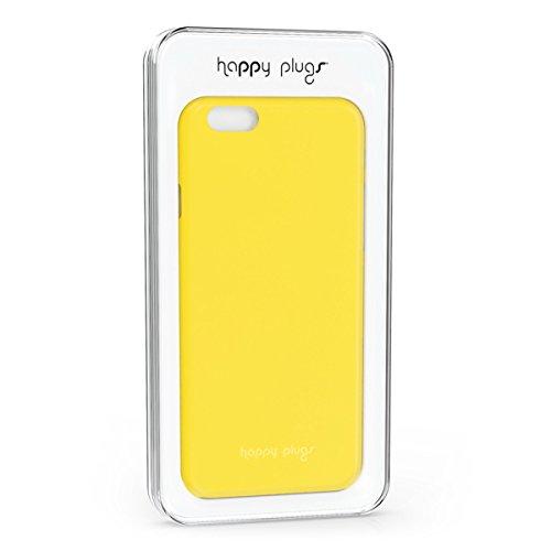 Happy Plugs Schutzhülle für Apple iPhone 5/5S, rose, Pink gelb