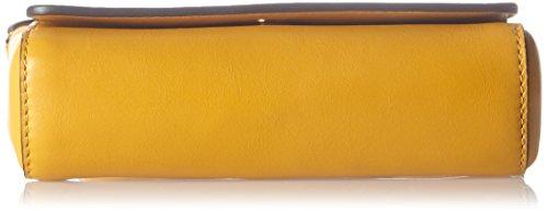 Escada - Ab717, Borse a tracolla Donna Giallo (Mustard)