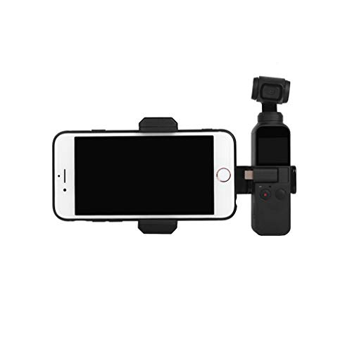 VICKY-HOHO 1 Set Tragbare Handyhalterung + Stativ + Verlängerungsstange für DJI OSMO Pocket,1 Set Portable Mobile Phone Bracket + Tripod + Extension Rod for DJI OSMO Pocket (A)