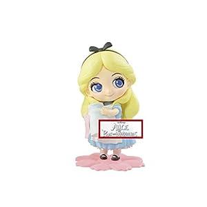 LAST LEVEL- Figura QPOSKET Disney Alicia Pastel Sweet 10 CM Aurora 9 CM, Multicolor (1)