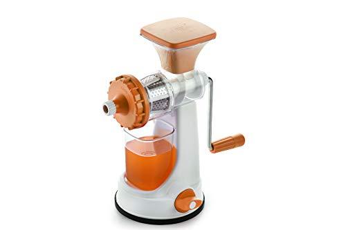 Ganesh Fruit & Vegetable Steel Handle Juicer, Orange