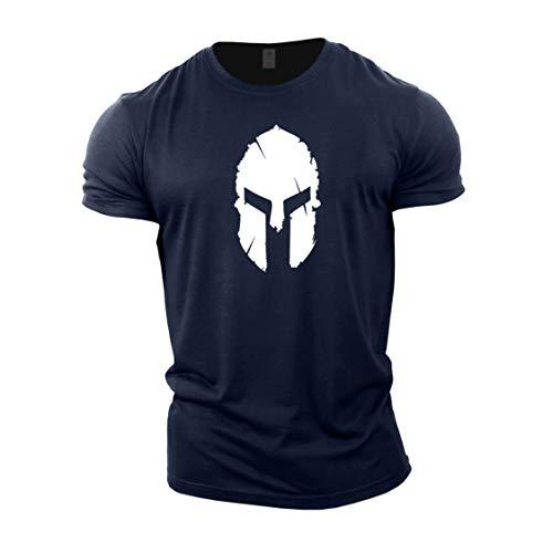GYMTIER - Camiseta - Hombre Azul Azul Marino M