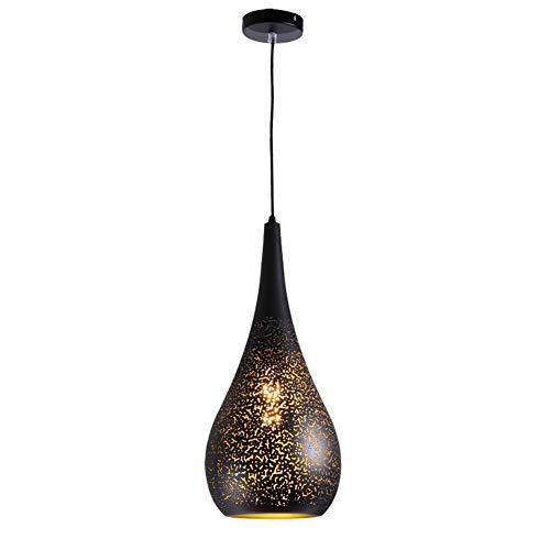 Kleine Schüssel-licht-anhänger (Retro industrielles Mini-Pierced-Pendelleuchte in handgefertigtem Lack-Finish mit schwarzem Metall-Bowling-Form verstellbare hohle hängende Beleuchtungsvorrichtung für Scheune Restaurant-Kücheninsel)