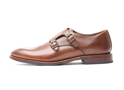 Gordon & bros homme micro a500410 homme businessschuhe, doppelmonk, anzugschuhe monkstrap blake, chaussures Marron - milano bergamo cognac