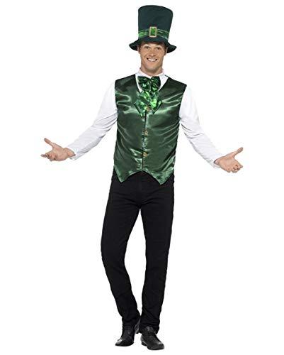 (Horror-Shop St. Patrick's Day Kostüm mit Hut für Paraden & Umzüge M)