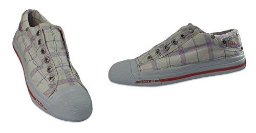 Killtec 18929 sneaker canvas - Weißtöne