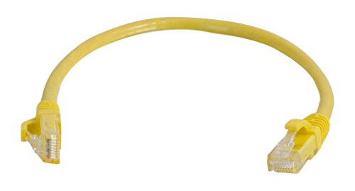 CABLESTOGO Cables to Go 83240 Category 5E geschirmt Patch Kabel (350MHz, 0,5m) gelb