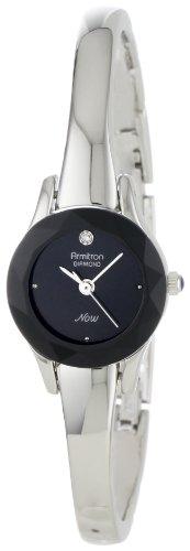 armitron-mujer-752433blk-now-diamond-accented-silver-tone-bangle-reloj