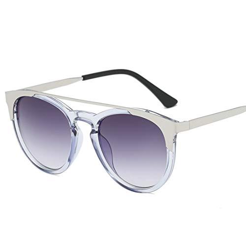Ofliery Roubd Sonnenbrillen Kunststoffrahmen für Männer Frauen Sonnenbrillen für Männer Radfahren Laufen Fahren Angeln (Color : B)