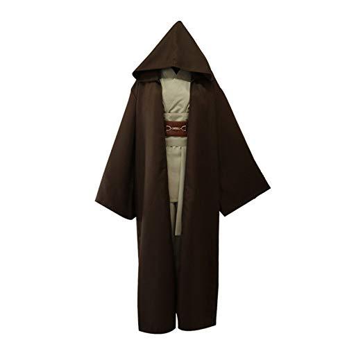 BLOIBFS Traje De Caballero Jedi De Star Wars