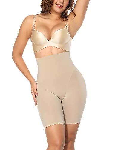FeelinGirl Damen Butt Lifter Miedership Po Lift Unterwäsche Hohe Taille Booty Push up Bauchweg Abnehmen Tummy Control Panty für Frauen - Hohe Bootie