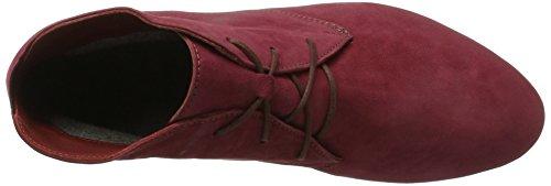 Think! Damen Guad_181297 Desert Boots Rot (Vino/Kombi 37)