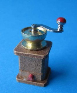 Mini Kaffeemühle Puppenhausmöbel Dekoration Küche Miniatur 1:12