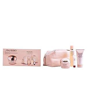 Shiseido – Benefiance – Crema de día anti-arrugas + Espuma limpiadora + Loción suavizante enriquecida + Serum activador energizante – 1 pack