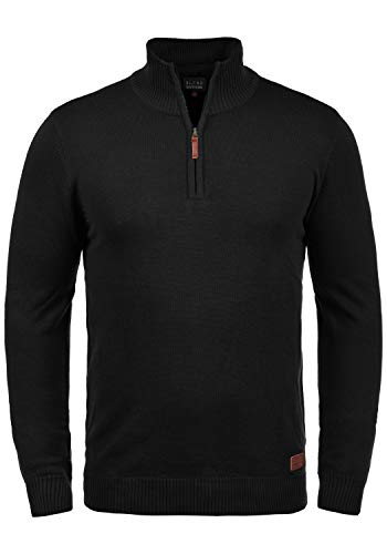 BLEND Robin - Pull - Homme, taille:M, couleur:Black (70155)
