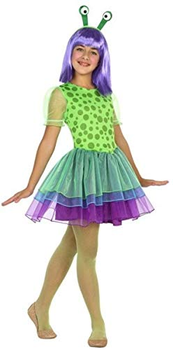 Fancy Me Mädchen Outer Space Martian Alien Halloween Karneval Buch Tag Kostüm Outfit 3-12 - Outer Space Kostüm
