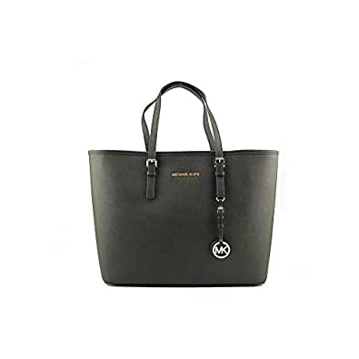 Michael Kors Jet Set Travel Tote In Black - Size One