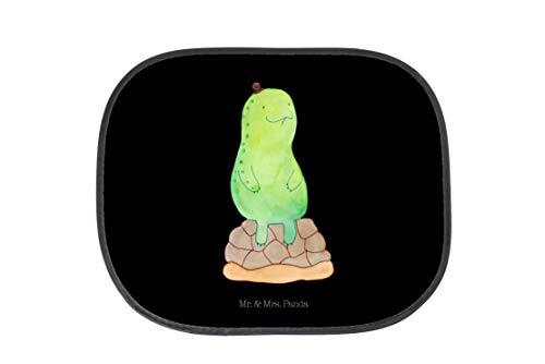 Mr. & Mrs. Panda Rücksitz, Auto, Auto Sonnenschutz Schildkröte pausiert - Farbe Schwarz