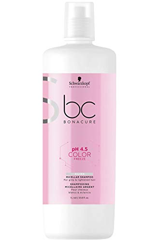 Schwarzkopf Bonacure Color Freeze silver Shampoo, 1er Pack, (1x 1000 ml)