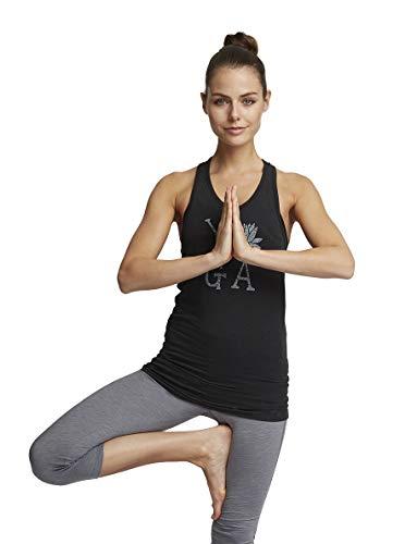 c7b3a4069 Calmia - Camisa deportiva - para mujer Gris Carbón Marl Large