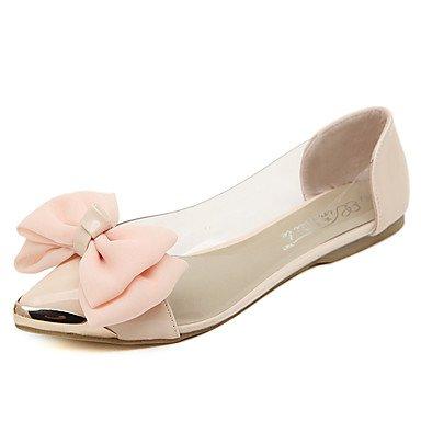 Confortevole ed elegante piatto scarpe donna Appartamenti Primavera Estate Autunno Inverno Comfort informale di lattice tacco piatto rosa mandorla altri Pink