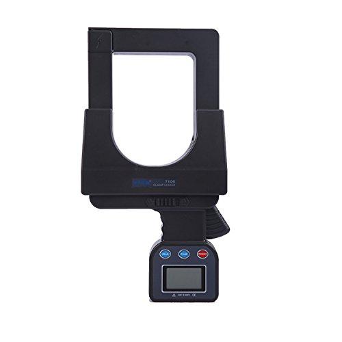 Multímetro Amperimetrica Digital, Calibrador de gran tamaño 0-3200A Medidor de corriente de fuga de corriente alterna con amperímetro de pinza digital Interfaz RS232 99 Registrador de datos ETCR7100 C