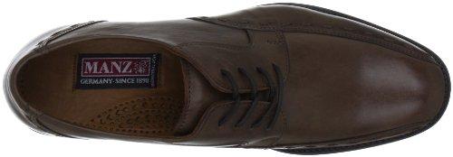 Manz Pescara 106002-22, Scarpe stringate basse classiche uomo Marrone (Braun (brown 191))