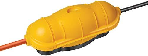 Brennenstuhl Safe-Box Schutzkapsel für Kabel BIG IP44 outdoor gelb, 1160440