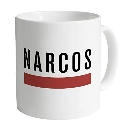 Narcos Official Logo Taza