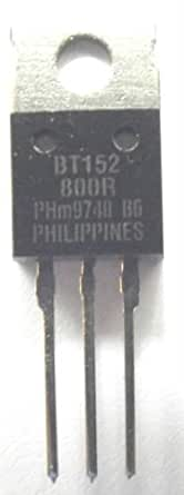 Philips BT152–800R thyristors SCR 800 V 220 A 3 broches to-220ab
