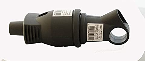 MPI Raccord en caoutchouc avec capot de protection + fiche Schuko avec poignée Set 250V 16A neuf fabriqué en UE