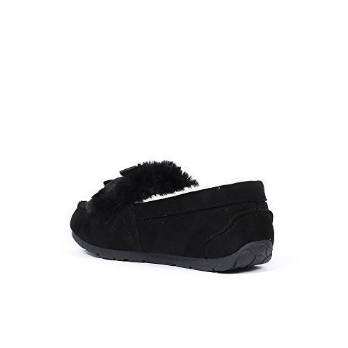 Ideal Shoes, Mocassini donna Nero