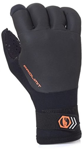 Prolimit - Neopren Handschuhe Curved Finger Utility , Größe:M