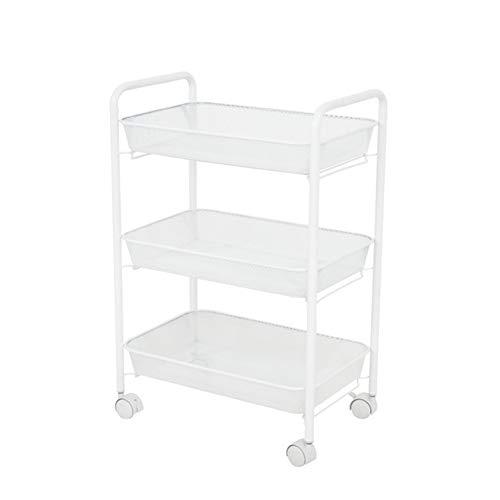 Drei-Schicht-Stretch-Korb Küchenset, Regalboden Multi-Schlafzimmer Schlafzimmer herausnehmbaren Ablage Regal Bad Warenkorb-2 -