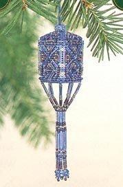 Sapphire Tassel Ornament Cross Stitch Kit by Mill Hill (Mill Hill Ornamente)