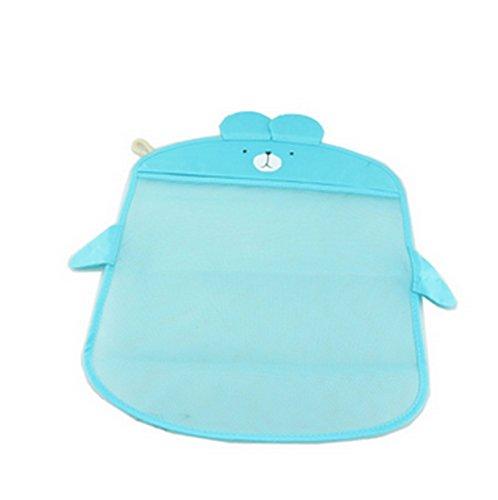 Beauty Sacca organizer porta accessori bagno per bambini colore celeste da appendere