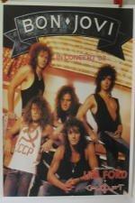 Bon Jovi-Lita Ford, Poster 86 x 60 cm/mostra