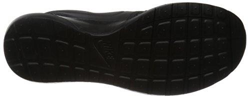 Nike Roshe Nm Flyknit Prm, Scarpe da Corsa Uomo, Blu, 44,5 EU Nero / Grigio / Bianco (Black/Black-Dark Grey-White)