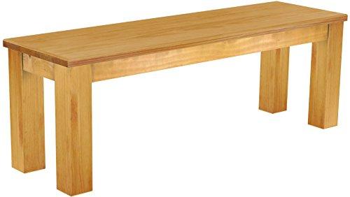 Brasilmöbel Sitzbank \'Rio Classico\' 130 cm, Pinie Massivholz, Farbton Honig