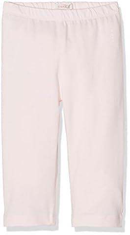 ESPRIT Mädchen Capri Leggings LEGGING RJ24043, Einfarbig, Gr. 128, Rosa (pastel Pink 312)