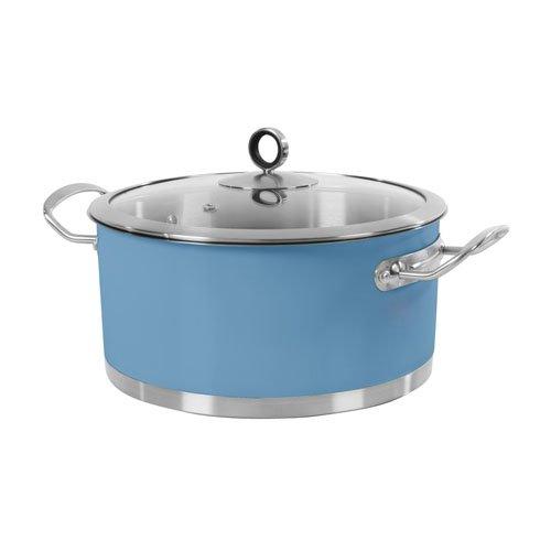 Morphy Richards Accents 24 cm Casserole Dish - Blue
