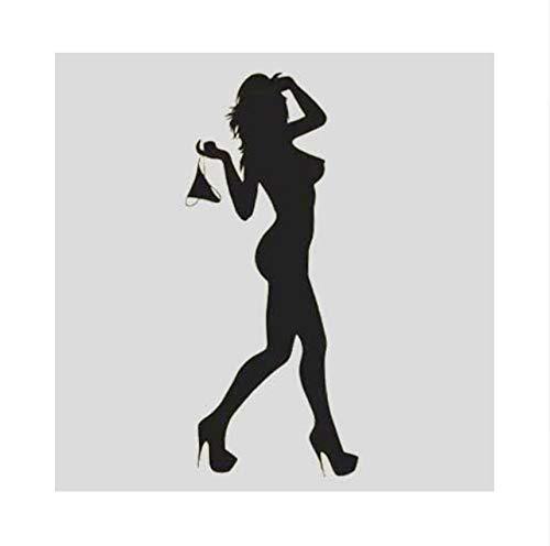 Fushoulu Diy Urban Fashion Schöne Sex Girl Sexy Lady Frauen Hochzeit Home Aufkleber Wanddekor Aufkleber Wandbilder Kunst Vinyl Poster Wallpaper