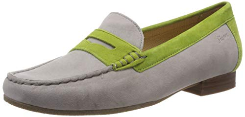 Sioux Damen Corbina Mokassin, Grau (Cloud/Apple 002), 42 EU