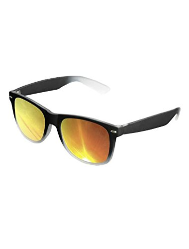 Masterdis Mstrds Likoma Sunglasses Fade Mirror UV400 Occhiali da Sole Colore black/orange