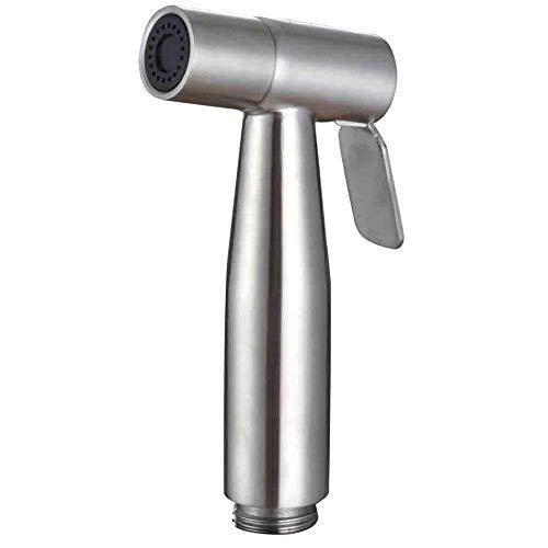 Blusea Handheld Bidet Sprayer Shattaf Tuch Windel WC Sprayer Edelstahl Gebürstet Bad Dusche Bidet Spray Set
