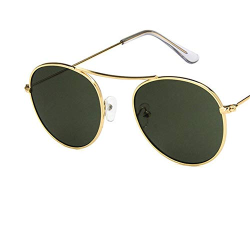 Wenkang Fashion Oval Sunglasses Women Men Metal Frame Sun Glasses Brand Sunglass Shades Uv400 Eyewear,7