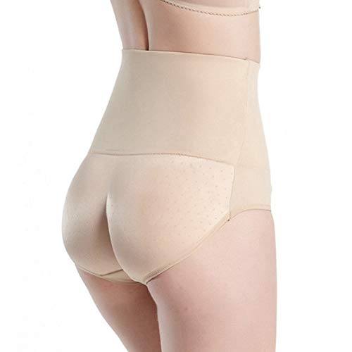 AMURAO Frauen Hohe Taille Control Pany Hip Up Stretchy Padded Butt Lifter