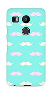 AMEZ Pattern 6 Back Cover For LG Nexus 5x