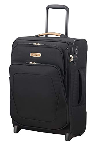 SAMSONITE Spark SNG Eco Upright 55 Expandable Koffer, 55 cm, 57 L, Eco Black