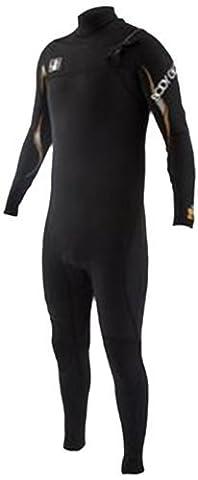 Body Glove Men's 3/2mm Vapor Slant Zip Fullsuit Wetsuit, Medium/Short by BOGA9